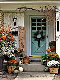 fall decorating ideas for porch