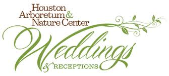 wedding backdrop logo weddings receptions houston arboretum nature center