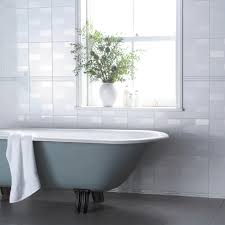 laura ashley highgate white and deco white silver strip tiles from