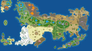 Map Of Pokemon World by Mystoria Overworld Map By Shadowlord90 On Deviantart