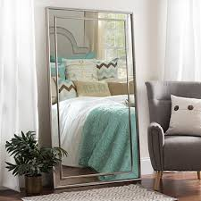 Shabby Chic Large Mirror by White Shabby Chic Full Length Mirror 33x79 In Kirklands