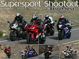 honda sports bikes 600cc 2005 supersport shootout street test motorcycle usa