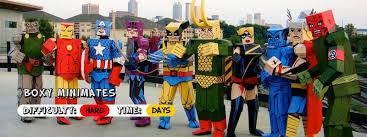 Lego Brick Halloween Costume 8 Diy Cardboard Costumes Box Inhabitots