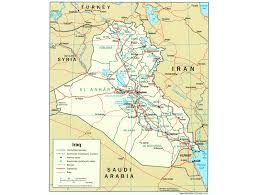 Political Map Of The Middle East by A Century Of U S Relations With Iraq Origins Current Events In