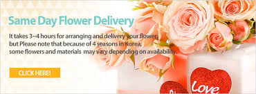 same day floral delivery flower delivery to south korea korea flower mall same day