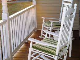 White Rocking Chair Outdoor by White Rocking Chair Decor References