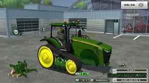 john deere tractor game 8335r john deere tractor john deere l la new holland t6 john deere john deere 8335rt v 2 1 mr gamesmods net fs17 cnc fs15 ets 2 mods