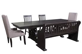 4 Seat Dining Table And Chairs The Stone Dining Room Collection Mor Furniture For Less