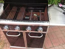 soulful stainless with kitchenaid dual chamber propane gas grill