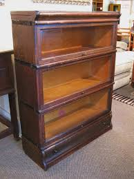 fantastic antique oak barrister u0027s bookcase with drawer at