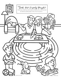 best photos of lds praying coloring page family prayer coloring