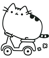 Delightful Decoration Pusheen Coloring Pages Book The Cat Cat Coloring Pages