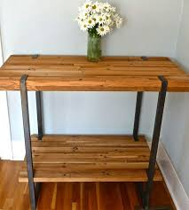 kitchen island made from reclaimed wood reclaimed wood bar table project wood workbench for 317