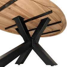 Esszimmertisch Ebay Esstisch Eiche Massiv 220x120 Cm Oval Tisch Wildeiche Massivholz