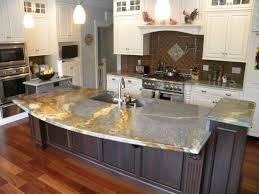 Kitchen Countertop And Backsplash Ideas Kitchen Stone Countertops Countertop Ideas Backsplash For Busy