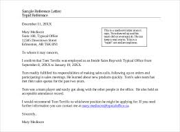 template for a reference letter recommendation letter office