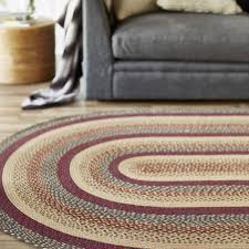 country style braided jute rugs ebony