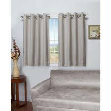 Black Curtains 90 X 54 Blackout Gray Curtains U0026 Drapes Window Treatments The Home