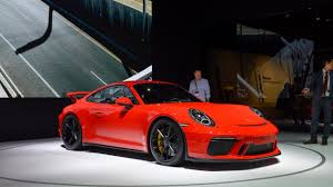 new porsche 2018 2018 porsche 911 gt3 new york 2017 motor1 com photos