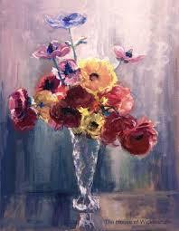 Crystal Flower Vases Flowers In Cut Crystal Vase