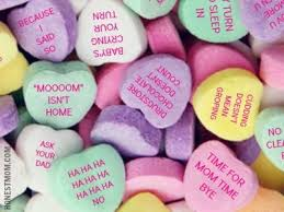 s candy hearts one year ago a to myself after the week from hell
