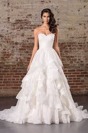 gorgeous wedding dresses gorgeous wedding dresses with tiered skirts bridalguide