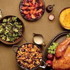 thanksgiving menu recipes traditional thanksgiving dinner menu