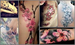 colorful cherry blossom tattoo designs best tattoo 2015 designs