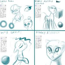 sketch brush examples paint tool sai by alumx on deviantart