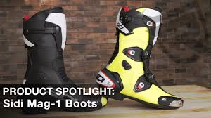 sidi motorcycle boots sidi mag 1 motorcycle boots product spotlight video riders