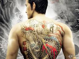big tattoos for men big asian dragon tattoo on back for men photos pictures and