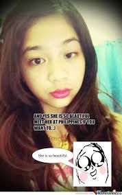 Asian Girl Meme - rmx a beautiful asian girl by renzvic meme center