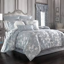 Blue And White Comforters J Queen New York Bedding Touch Of Class