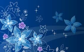Blue Flower Backgrounds - index of data out 33