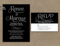 silver wedding invitations black silver wedding invitations nifty printables