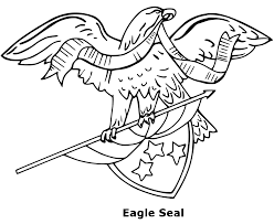 patriotic eagle coloring pages getcoloringpages com