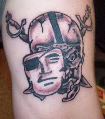 mask and skull oakland raiders logo tattoo golfian com