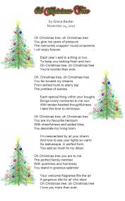 the little christmas tree poem part 34 poems about