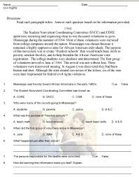 reading comprehension and questions worksheets free worksheets