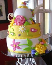 teapot cake for tea party baby shower cakecentral com