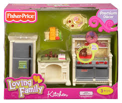 Loving Family Kitchen Furniture by Fisher Price Loving Family Dollhouse Kitchen New Free Shipping