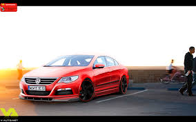 red volkswagen passat vw passat cc by gd1990 on deviantart