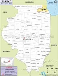 Zip Code Map Chicago by 224 Area Code Map Where Is 224 Area Code In Illinois