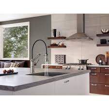 Brizo Faucets Kitchen by Faucet Com 63225lf Ss In Brilliance Stainless By Brizo