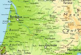 Dordogne France Map by Gr652