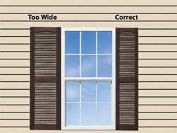 how to measure for decorative vinyl shutters exteriorsolutions
