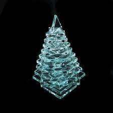 glass pine trees and palm trees desert glass products collectibles