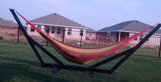 Hammock Chair Stand Plans Inspirations Hammock Stand Diy Plans Homemade Hammock Stand