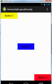 layout gravity linear layout learn android development for beginners android