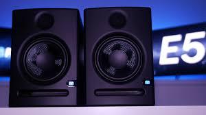 black friday studio monitors presonus eris e5 studio monitors review and comparison youtube